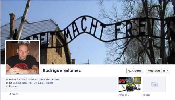 Rodrigue, militant d'extrême droite du Nord, admire les camps de concentration