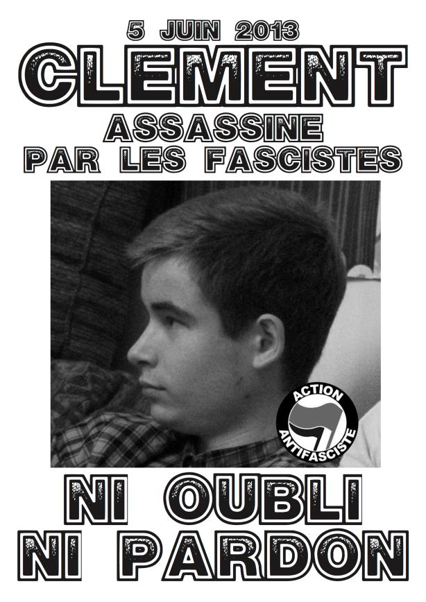 Affiche Clément : NI OUBLI NI PARDON