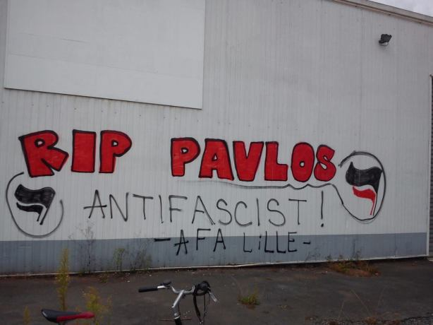 RIP PAVLOS AFA Lille
