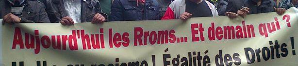 Solidarité avec les Rroms de Lille Fives