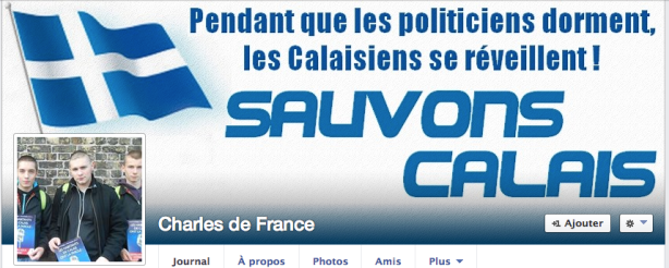 Sauvons Calais Front National