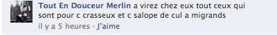 Commentaire sexiste