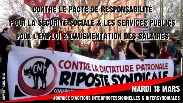 Grève 18 mars