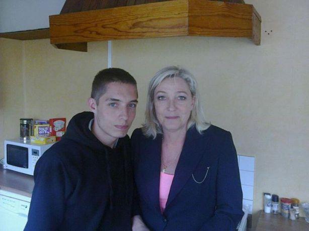 Marine Le Pen et Kevin Reche