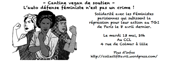 Cantine vegan féministe à Lille