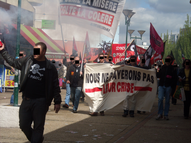La CNT en grève