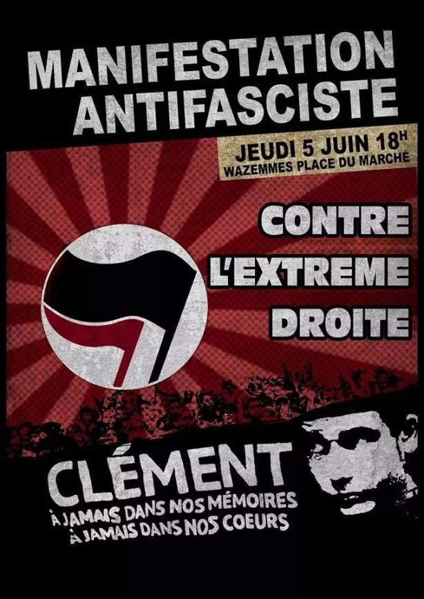 Manifestation pour Clément Méric à Lille