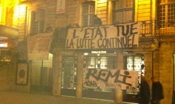 Solidarite Remi Fraisse Lille