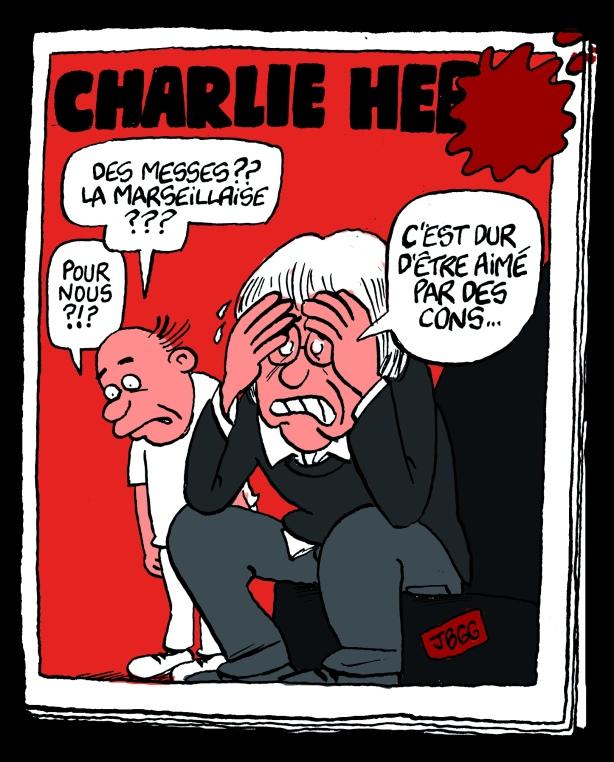 Charlie Hebdo : c'est dur d'être aimé par des cons