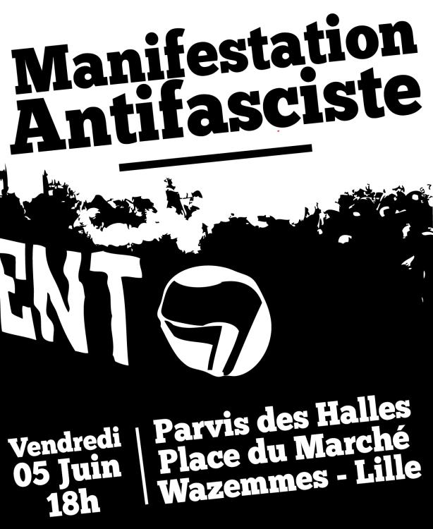 Affiche 5 juin 2015 Clément Méric