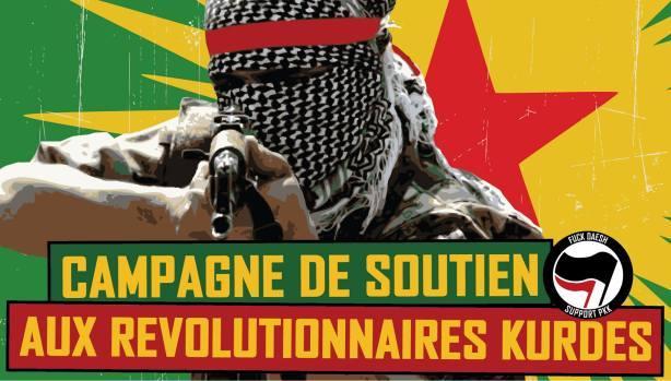 Campagne de soutien aux révolutionnaires kurdes