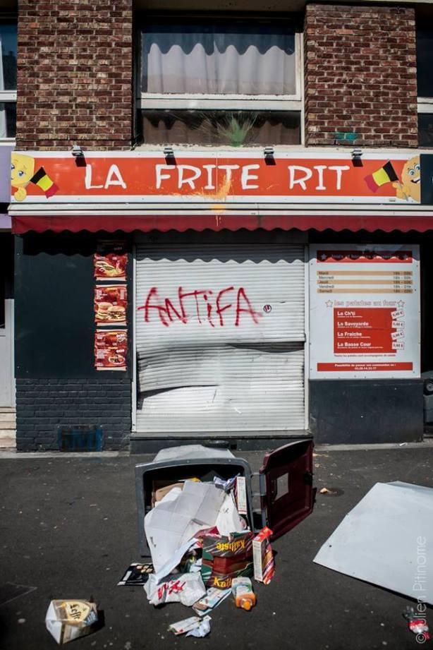 Manif loi travail à Lille