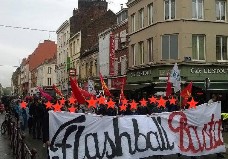 Une manifestation ayant réuni près de 1000 personnes c'est déroulée hier mardi pour la libération d'Antoine et contre les violences policières