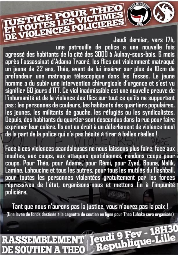 Justice pour Théo de Aulnay !
